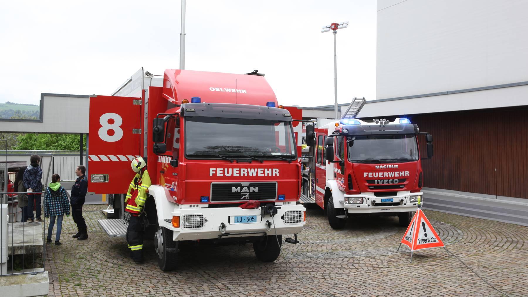 Schweiz mit grossem Vertrauen in Feuerwehren