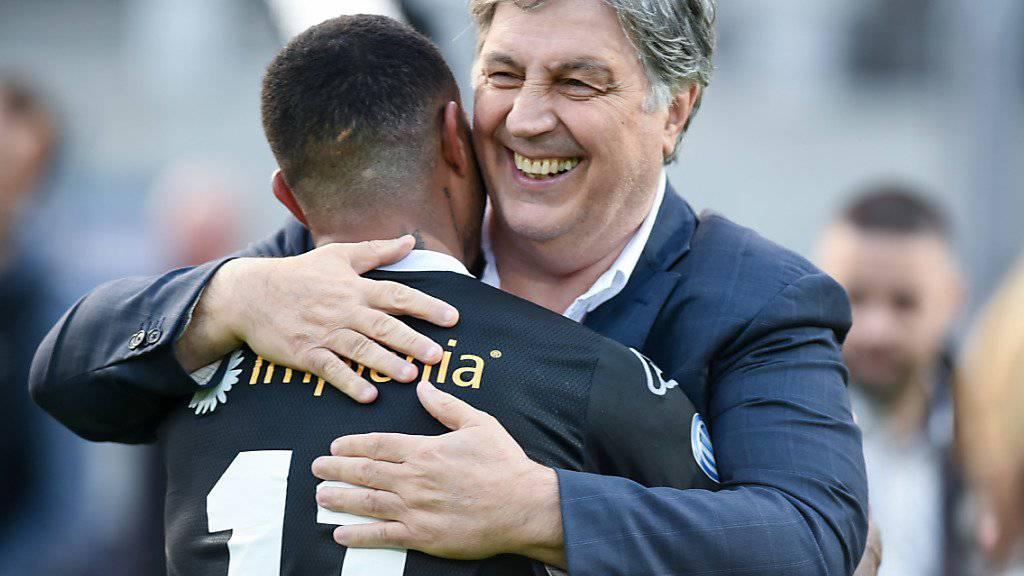 Angelo Renzetti bleibt Mehrheitsaktionär des FC Lugano