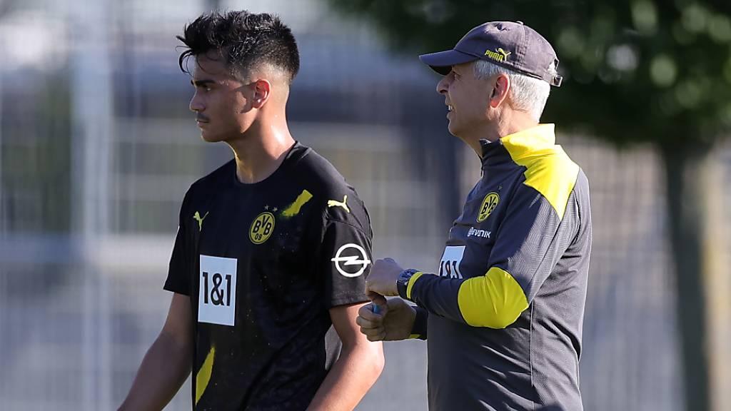 Lucien Favre und das Dortmunder Jugendlabor