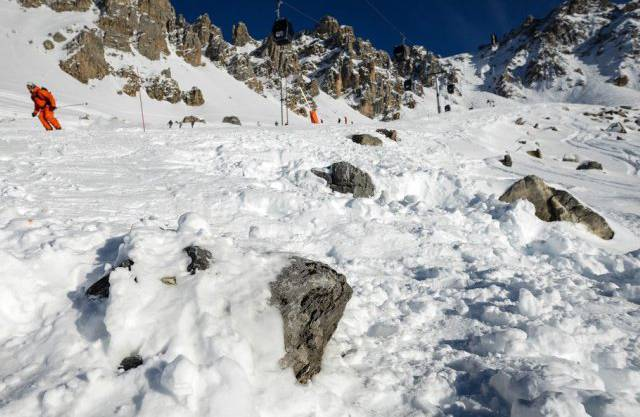 Mutmasslicher Unfallort im Skigebiet Méribel (Archiv)