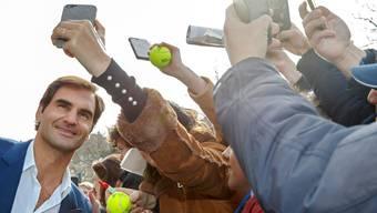 Roger Federers Laver Cup ist auf dem besten Weg, sich als fester Bestandteil im Tennis-Zirkus zu etablieren (Bild: Keystone).