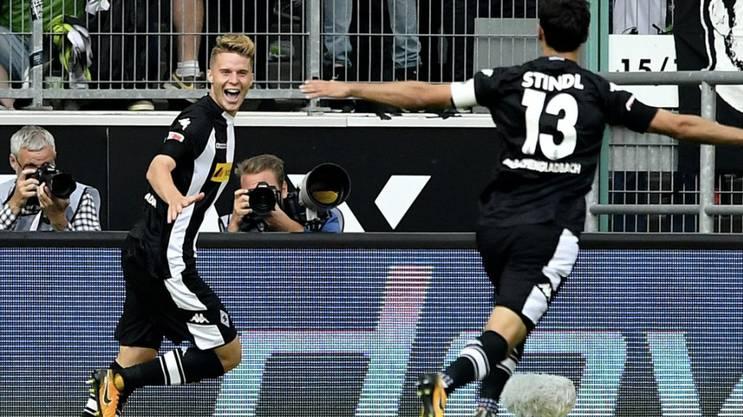 Nico Elvedi feierte seine Bundesliga-Torpremiere.