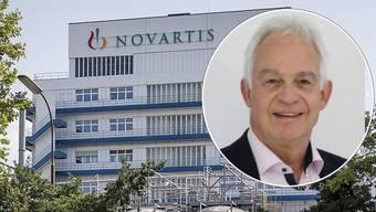 Christian Fricker spricht zum drohenden Kahlschlag bei Novartis.