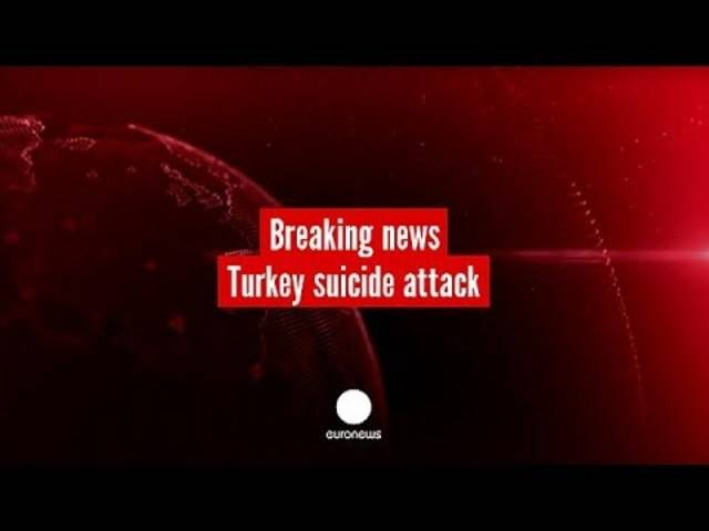 Türkei: Mindestens 27 Menschen sterben bei Selbstmord-Anschlag.