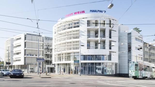 Der Hauptsitz von Panalpina in Basel (Archiv)
