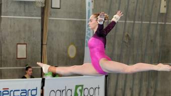 Fabienne Strub gewinnt im Programm 5 die Bronzemedaille.