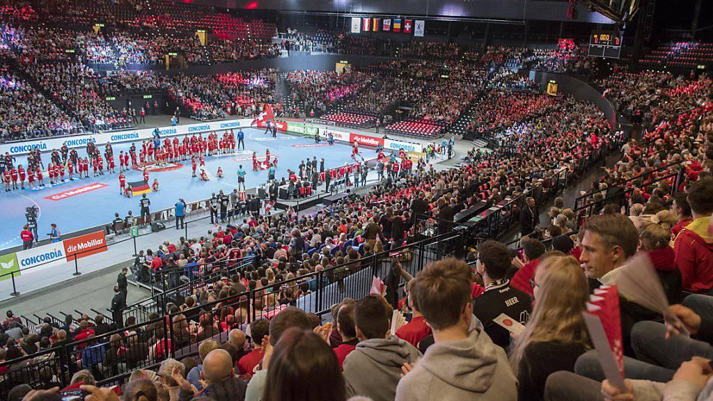 Der Handballverband hofft in Biel gegen Portugal auf ähnliche Stimmung wie letzten November bei der 22:23-Niederlage gegen Deutschland im Hallenstadion