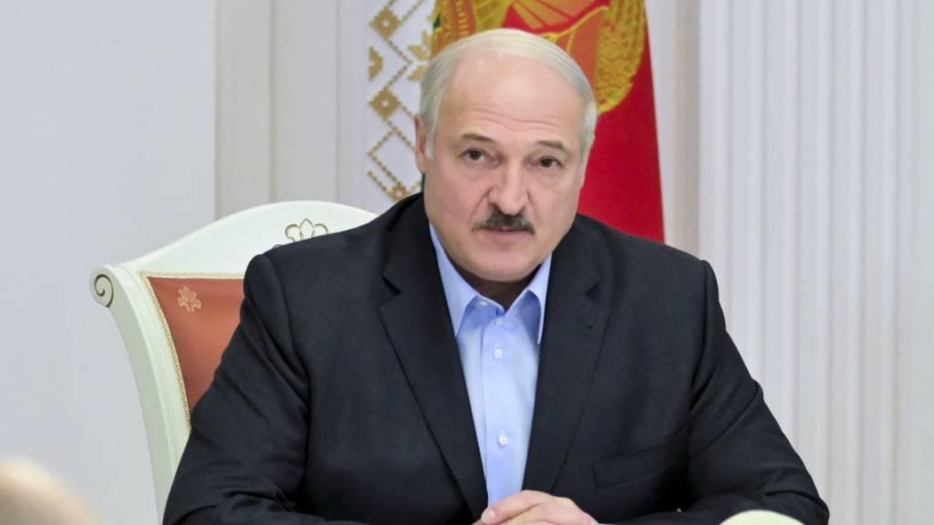 Kanada und Grossbritannien verhängen Sanktionen gegen Lukaschenko