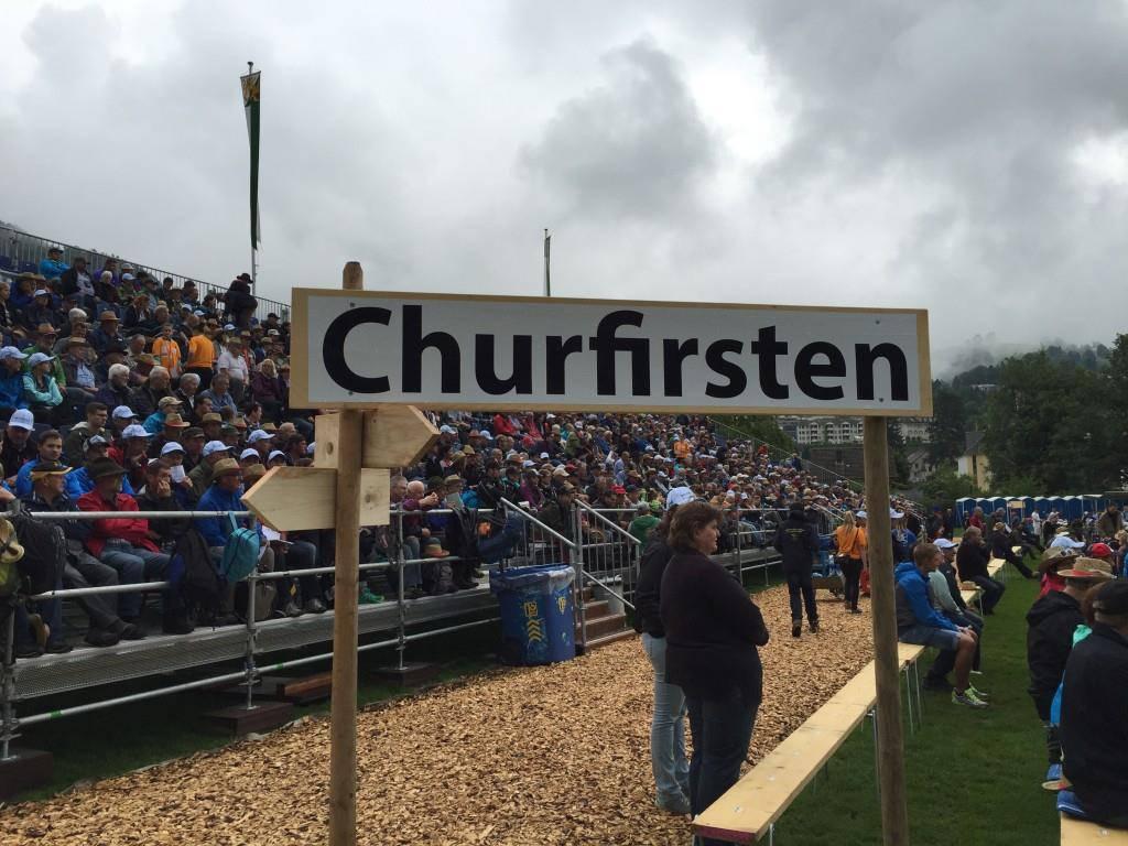 So war's am Nordostschweizer Schwingfest (© FM1Today)