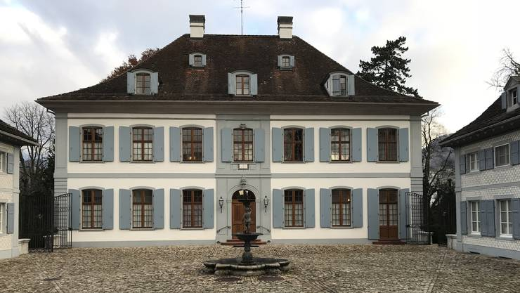 Das Schloss Ebenrain in Sissach.