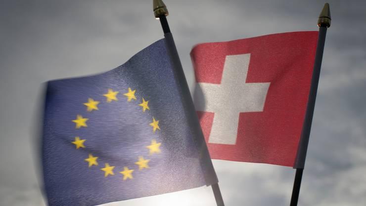 Wie weiter im Verhältnis Schweiz-EU? Heute wird ein Positionsbezug des Bundesrates erwartet.