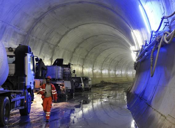 Der Bau der 9,6 Kilometer langen Durchmesserlinie (DML) zwischen Zürich-Altstetten und Oerlikon ist weiter auf Kurs.