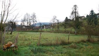 Platz für neue Überbauung: Das Gebiet Hofacher in Kaisten. (sh)