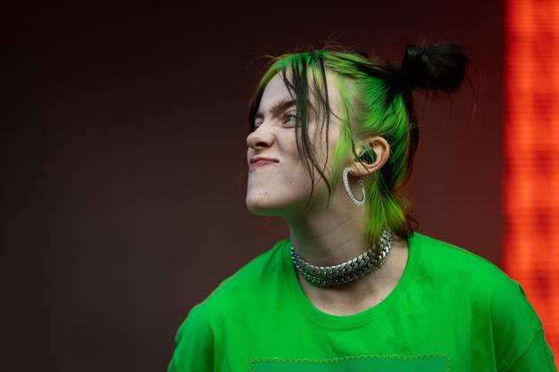 Weitere Bilder vom Auftritt von Billie Eilish am Zürich Open Air.