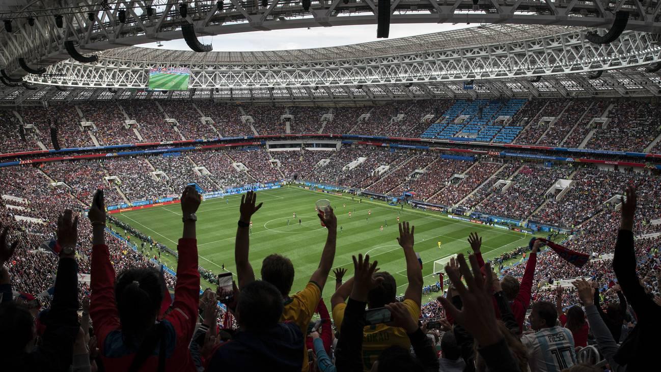 Fussball WM 2018 Russland