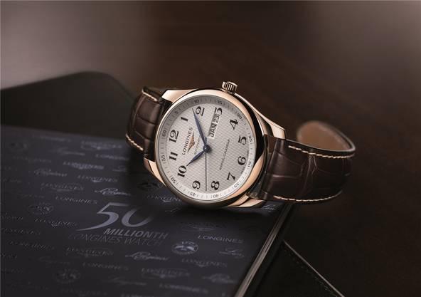 Die 50-millionste Longines-Uhr.