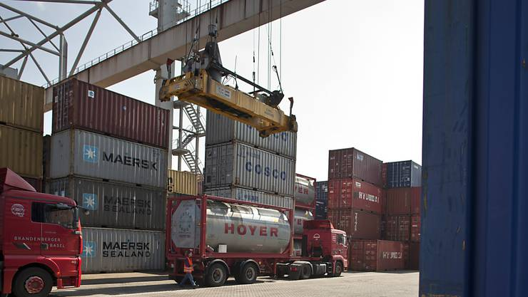 Der Export von Schweizer Waren ist in der ersten Jahreshälfte auf Hochtouren gelaufen. (Themenbild)