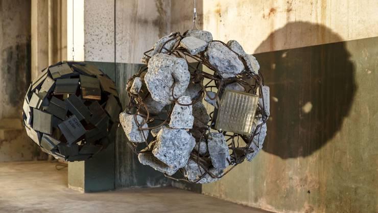 Kulturschaffende treffen sich drei Jahre nach der ersten Austragung des Kunstfestivals «Kettenreaktion» wieder in der ehemaligen Cellulose-Fabrik. (Archiv)