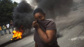Schwere Ausschreitungen in Haiti