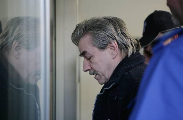 Werner Ferrari am Prozess im Rathaus Wettingen am 10. April 2007
