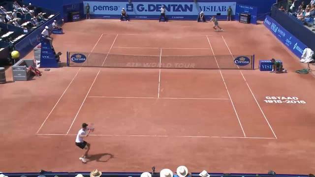Hochklassiges Tennis und der Publikumsliebling