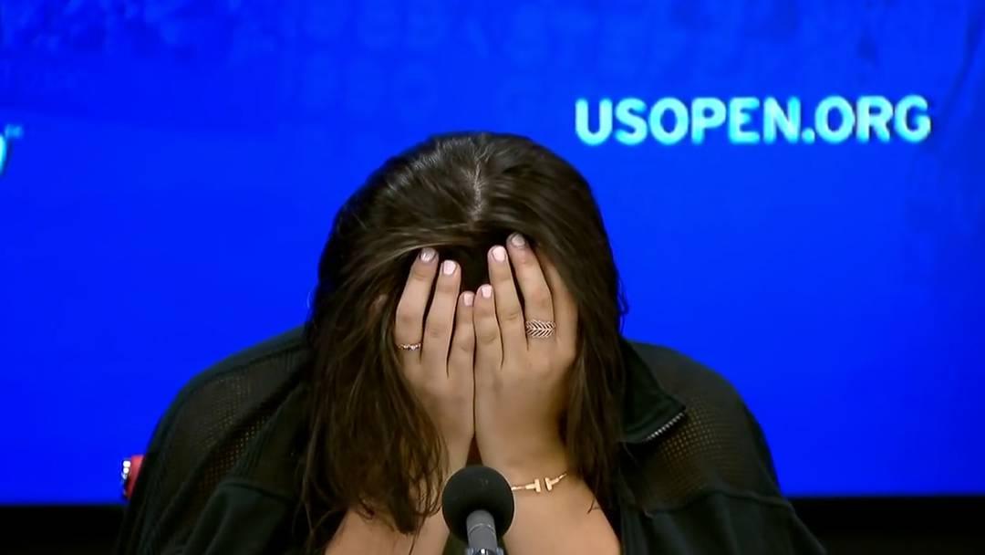 19-jährige Andreescu bricht an Pressekonferenz in Tränen aus