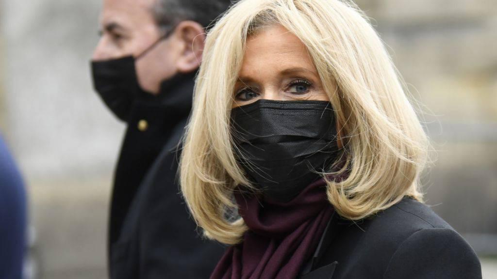 Frankreichs Präsidentengattin Brigitte Macron. Foto: Bertrand Guay/AFP/dpa