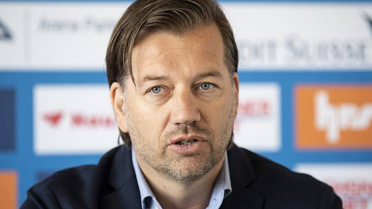 Bernard Schuiteman, niederländischer Sportchef der Grasshoppers