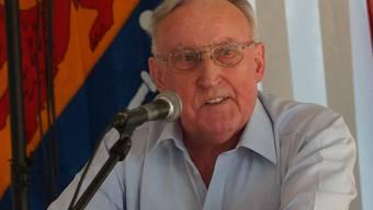 Josef Brem ist der «Geburtshelfer» der Gemeinde Islisberg. kob