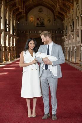«Er ist wirklich ruhig», sagte Meghan stolz über ihren Sohn. «Es ist magisch, es ist total toll.»