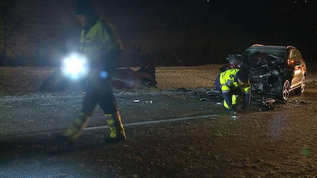 «Ein tragischer Unfall», Roland Pfister, Sprecher der Kantonspolizei Aargau, noch auf der Unfallstelle gegenüber Tele M1.