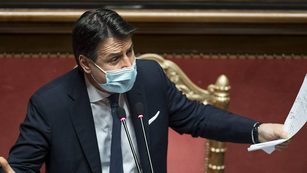 Italiens Regierung vor neuer Krisen-Abstimmung im Senat