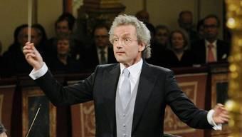 Franz Welser-Möst dirigiert das Neujahrskonzert der Wiener Philharmoniker nach 2011 zum zweiten Mal (Archiv)