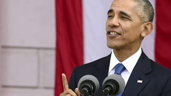 US-Präsident Barack Obama will in Athen noch eine Grundsatzrede zur Demokratie halten