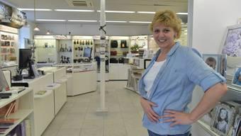 Nicole Biedert, Inhaberin des Fotofachgeschäftes an der Bettlachstrasse, hat den Dienstleistungsbereich im Angebot stark ausgebaut.