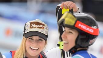 Lara Gut (l.) und Wendy Holdener sind die Aushängeschilder von Swiss Ski.
