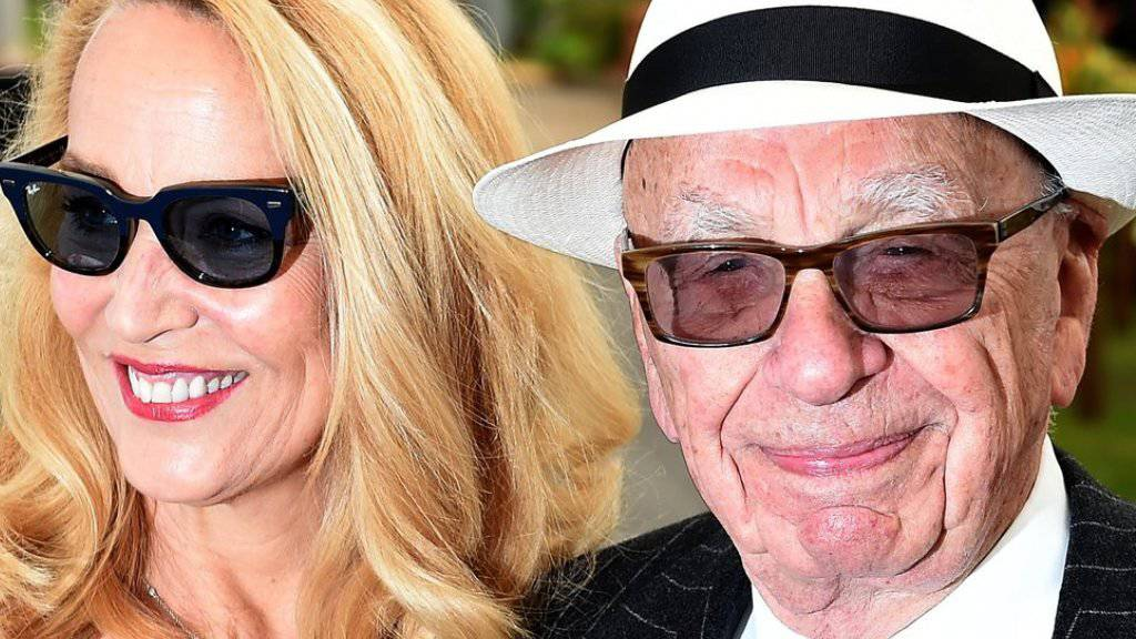 Jerry Hall hat den Medienmogul Rupert Murdoch geheiratet. Am 2. Juli wird das Ex-Model 60 (Archiv)