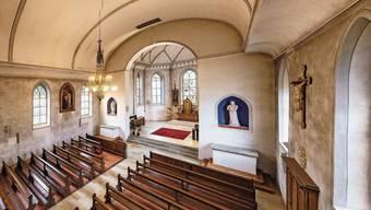So sieht der Innenraum der katholischen Kirche Selzach heute aus. Nach dem Turm soll auch dieser renoviert werden.