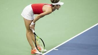 Belinda Bencic ratlos gegen Leylah Fernandez