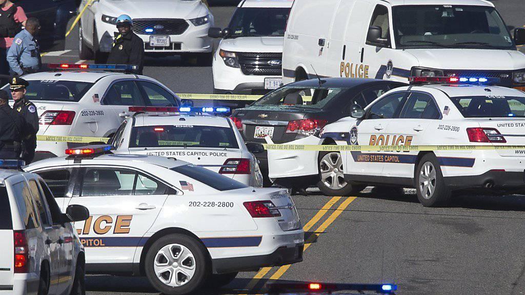 Amerikanische Sicherheitsbehörden haben einen Verdächtigen nach rätselhafter Mordserie mit neun Toten festgenommen. (Symbolbild)