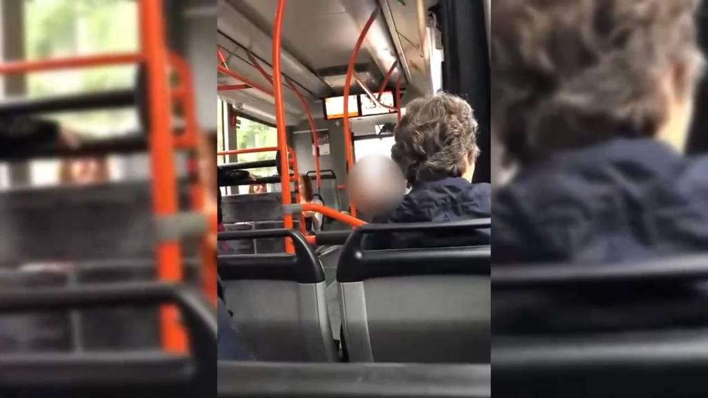«Dein ist mein ganzes Herz!» Singender Busfahrer von Aarau begeistert seine Passagiere