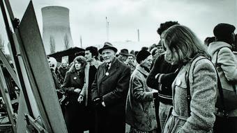 Aufmarsch in Gösgen 1976.