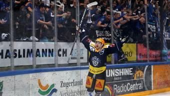 Lino Martschini hat In drei Partien den Output seiner vorherigen 31 Playoff-Spiele egalisiert.