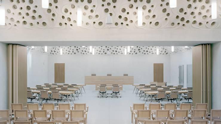Das Bundesstrafgericht in Bellinzona: 34 Richter beurteilen Straffälle des Bundes in erster und zweiter Instanz. Dazu gehören die Anklagen der Bundesanwaltschaft.