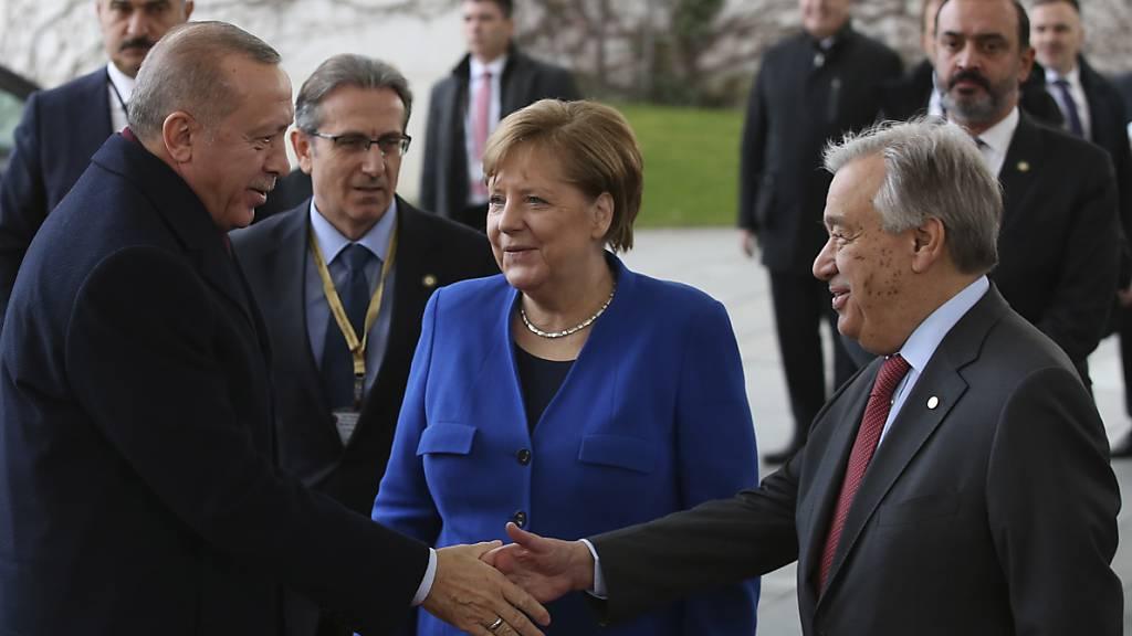 Berliner Gipfel einigt sich auf Schritte zum Frieden in Libyen