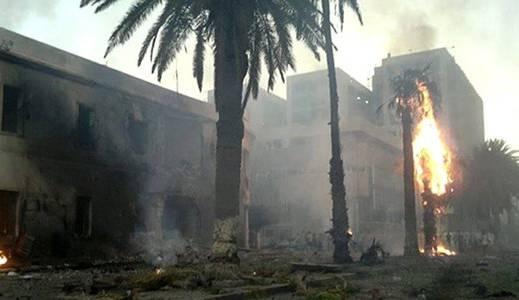 Autobomben-Anschlag in Libyen.