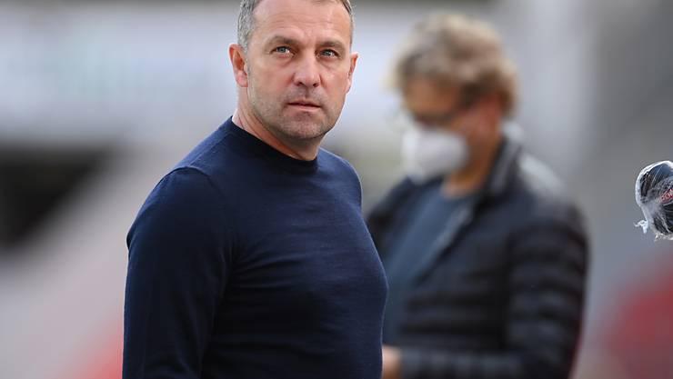 Trainer Hansi Flick leistet mit den Bayern etwas, das ihm nicht alle zugetraut hätten
