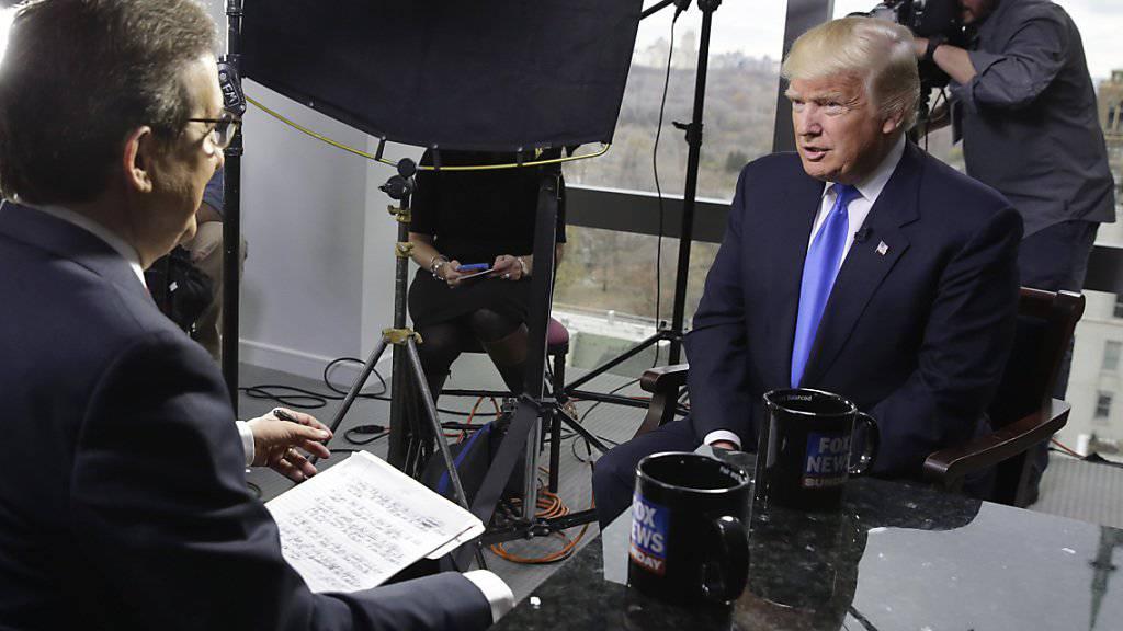 Donald Trump bevorzugt Fox News: Der US-Präsident gibt dem konservativen TV-Sender gerne Interviews. (Archivbild)