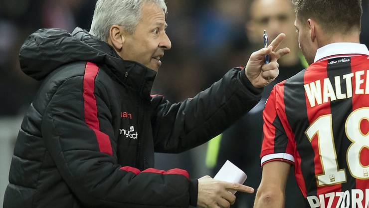 Lucien Favre steht mit Nice weiterhin an der Spitze der Ligue 1