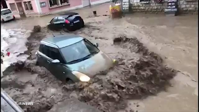 Erneut heftige Gewitter in der Schweiz